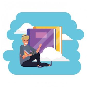 Libri cloud per studenti millenari per l'istruzione online