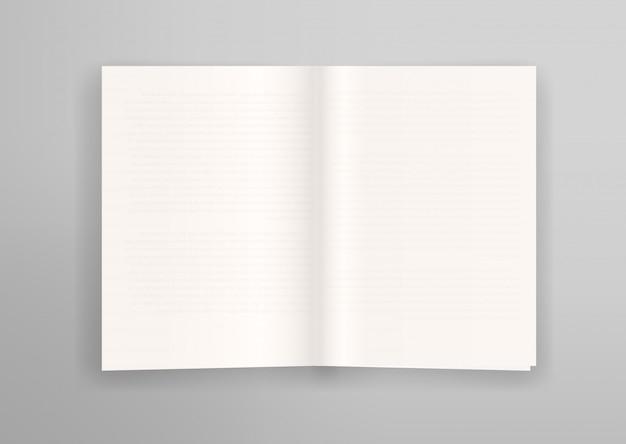 Libro aperto con effetto pagine sottili sottili trasparenti