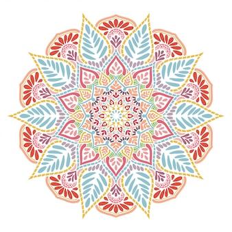 Libro da colorare di mandala, terapia orientale, loghi di yoga vettore.