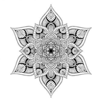 Libro da colorare mandala, terapia orientale