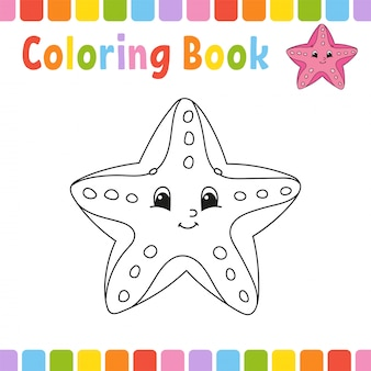 Libro da colorare per bambini.