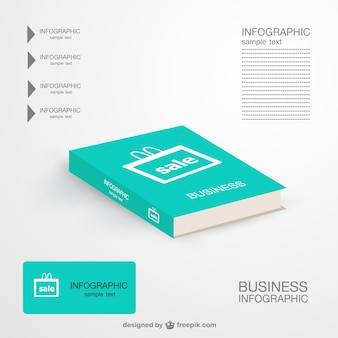 Libro di marketing infografica