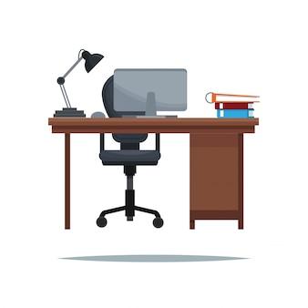 Libro lampada lampada da tavolo poltrona da lavoro
