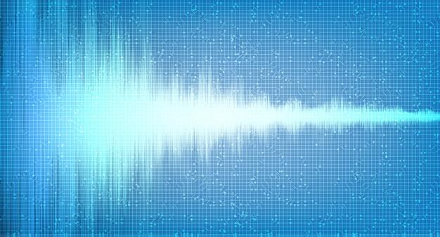Light digital sound wave