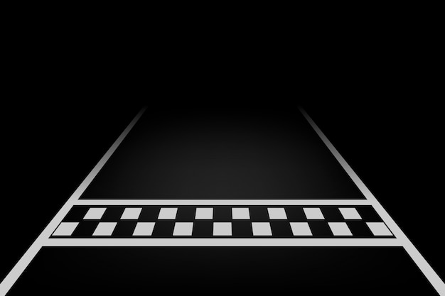 Linea corsa sfondo vettoriale