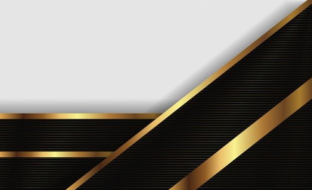 Linea di presentazione in oro e bianco