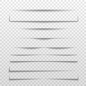 Linea di separazione o divisore di ombra