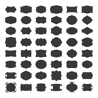 Linea geometrica astratta. motivo geometrico a linea sottile con testo. illustrazione vettoriale