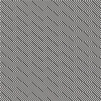 Linea grafica moderna minima geometrica del triangolo del modello del diamante delle mattonelle linea 3d colore del modello di vettore in bianco e nero