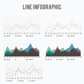 Linea infografica