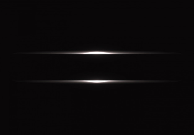 Linea leggera d'argento su sfondo nero.