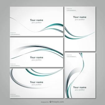 Linea semplice card template materiale vettoriale