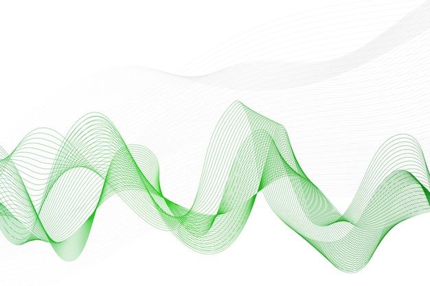 Linee astratte su uno sfondo bianco. linea artistica . copia spazio