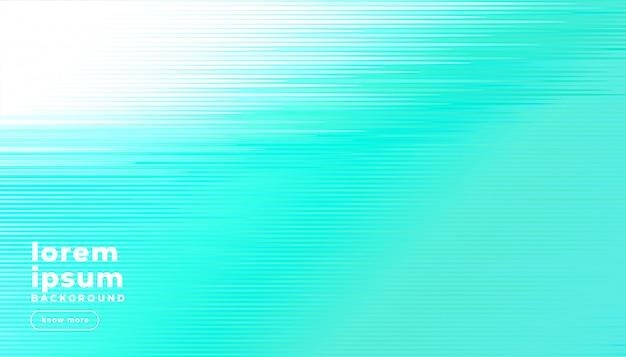 Linee astratte turchese brillante sfondo