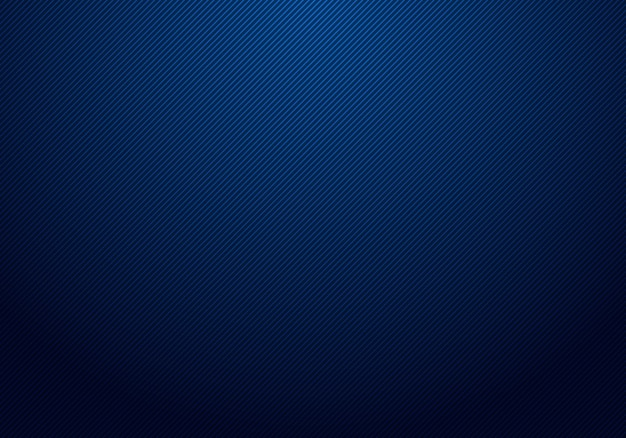 Linee diagonali a strisce astratte fondo blu