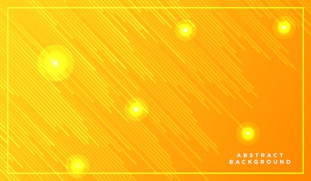 Linee diagonali che cadono con luce incandescente