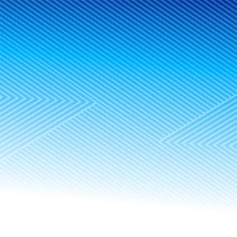 Linee geometriche astratte modello sfondo blu