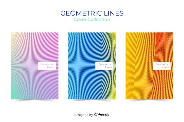 Linee geometriche coprono la collezione