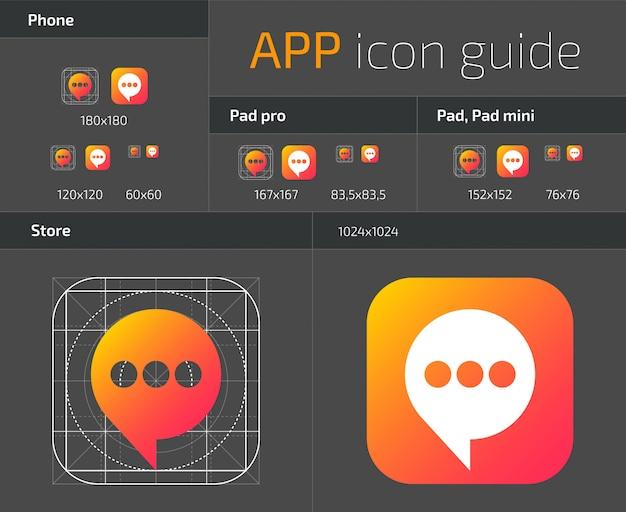 Linee guida per la progettazione delle icone dei pulsanti ios dell'interfaccia utente