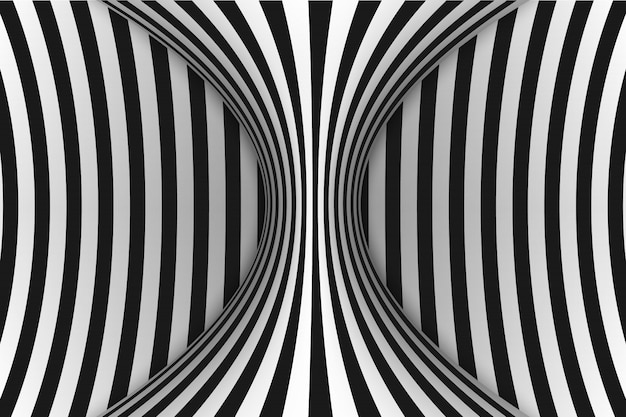Linee illusione ottica