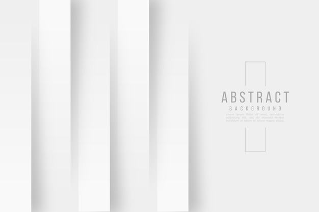 Linee verticali sfondo stile carta 3d