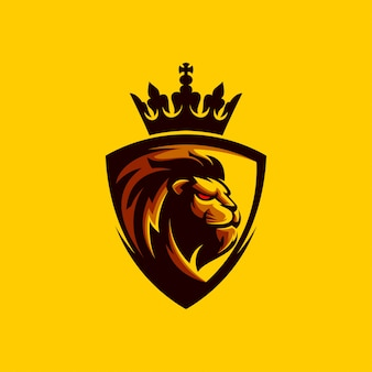 Lion logo design
