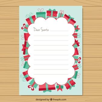 Lista dei desideri con bordo regali
