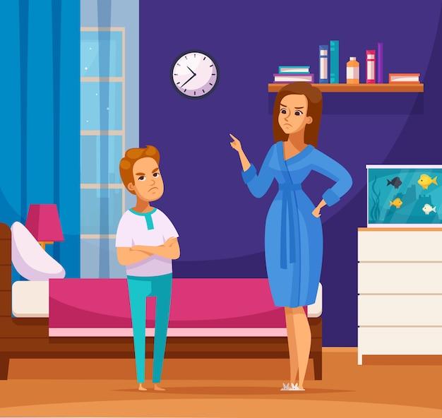 Litigare con la composizione dei genitori