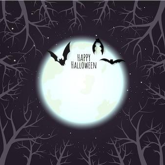 Lo sfondo di halloween ha spazio per il tuo testo