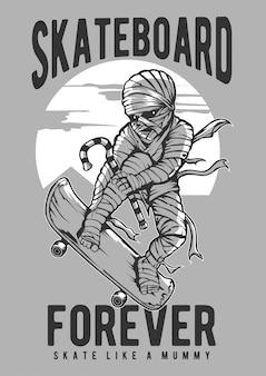 Lo skateboard della mamma