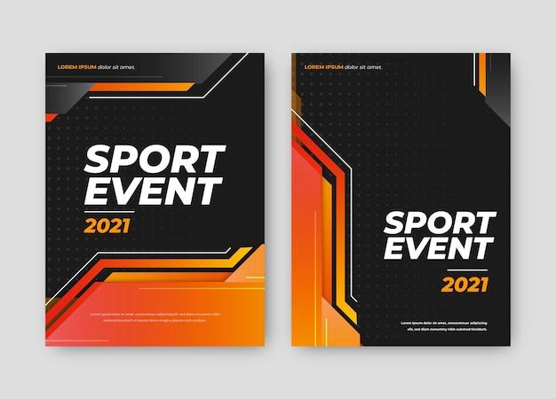 Locandina dell'evento sportivo