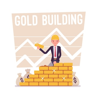 Locandina edificio d'oro