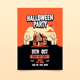 Locandina festa di halloween