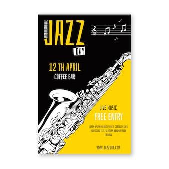Locandina giornata internazionale del jazz