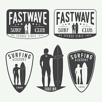 Loghi del surf