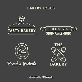 Loghi della linea art bakery