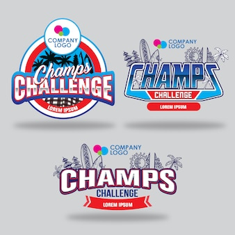 Loghi di champs challenge
