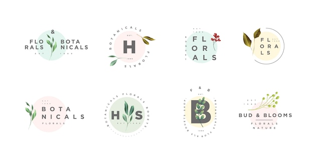 Loghi floreali e botanici