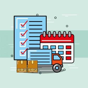 Logistica e servizio di consegna