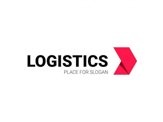 Logistica logo freccia consegna espressa