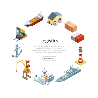 Logistica marittima isometrica
