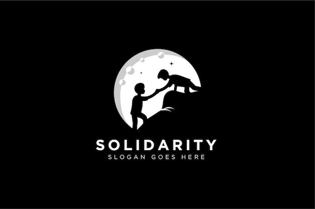 Logo a tema di solidarietà