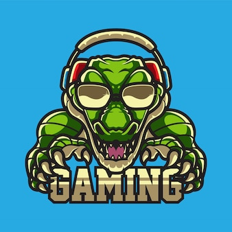 Logo alligator gamers