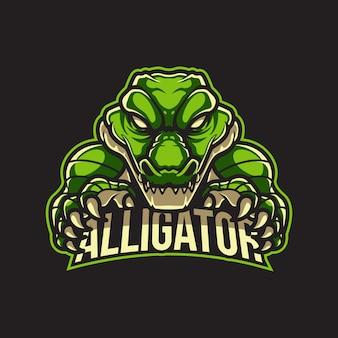 Logo alligatore logo