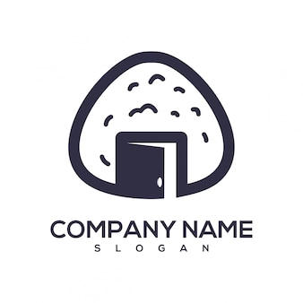 Logo aperto con palla di riso
