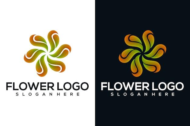 Logo astratto fiore