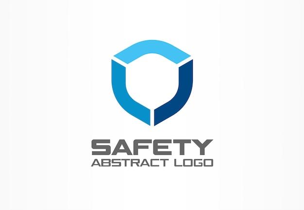 Logo astratto per azienda commerciale. elemento di identità aziendale