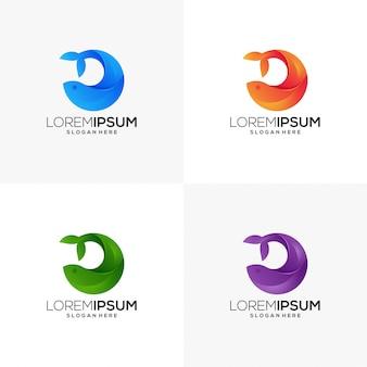 Logo aziendale di balene