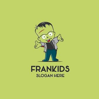 Logo bambini di frankenstein