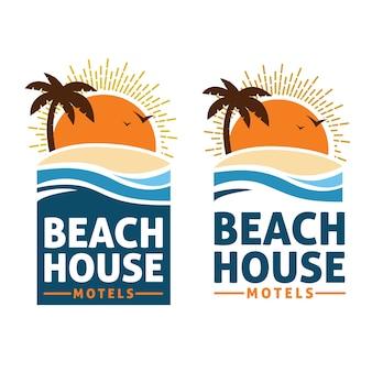 Logo beach house